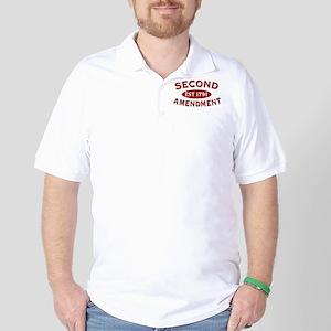 Second Amendment 1791 Golf Shirt