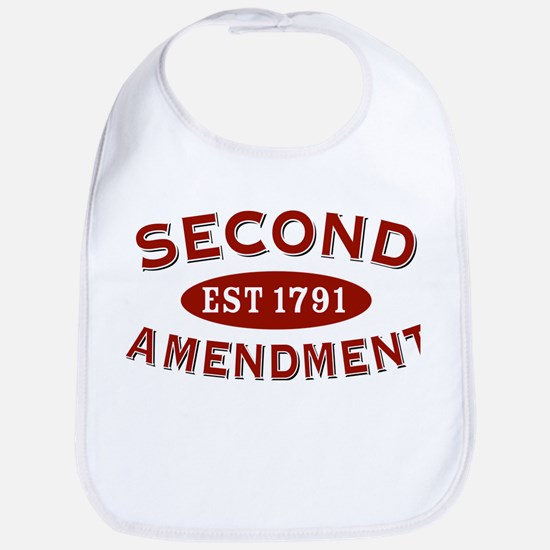 Second Amendment 1791 Bib