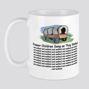 Pioneer Children Walked Mug