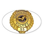 Consolidated Vultee Oval Sticker (10 pk)