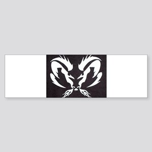 Ram Sign Bumper Sticker