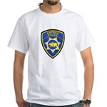 Antioch Police Department White T-Shirt