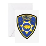 Antioch Police Department Greeting Cards (Pk of 20