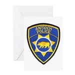 Antioch Police Department Greeting Card