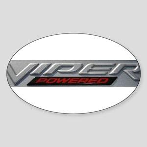 Viper Oval Sticker
