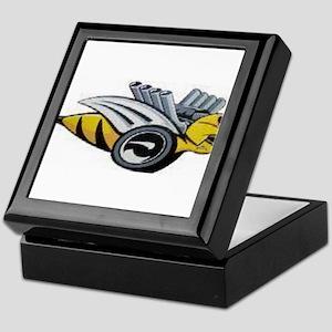 Neon Bee Keepsake Box