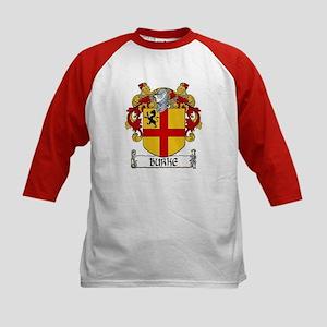 Burke Coat of Arms Kids Baseball Jersey