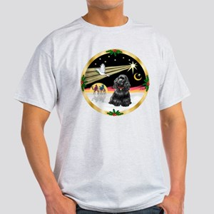 XmasDove/Cocker (black) Light T-Shirt