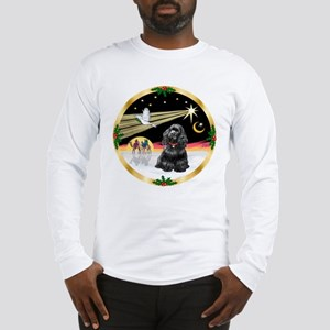 XmasDove/Cocker (black) Long Sleeve T-Shirt