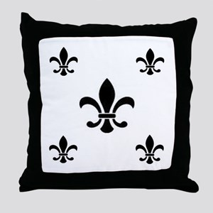 French look Fleur de Lis Throw Pillow