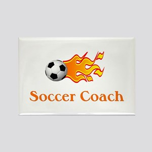 Soccer Coach Rectangle Magnet (10 pack)