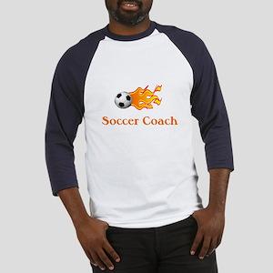 Soccer Coach Baseball Jersey