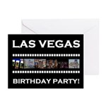 Las Vegas Retro Film Birthday Party! Cards 10