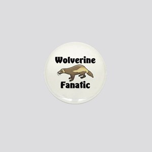Wolverine Fanatic Mini Button