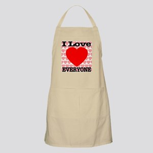 I Love Everyone BBQ Apron