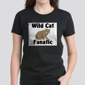 Wild Cat Fanatic Women's Dark T-Shirt
