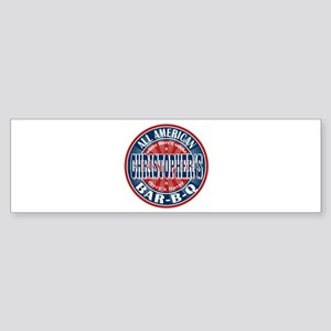 Christopher's All American BBQ Bumper Sticker