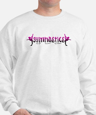 Cool Gymnastics beam Sweatshirt