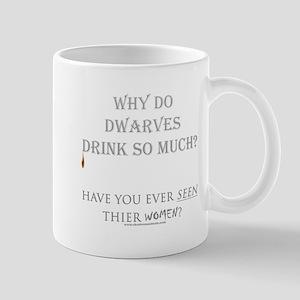 Dwarven Women Mug
