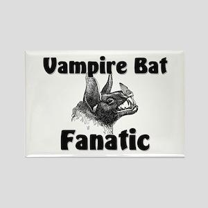Vampire Bat Fanatic Rectangle Magnet