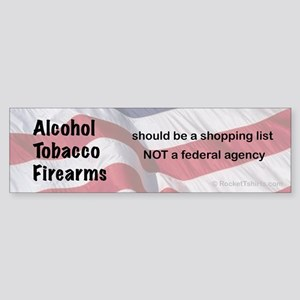 shopping list Bumper Sticker