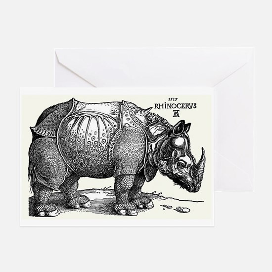 Rhino Greeting Cards