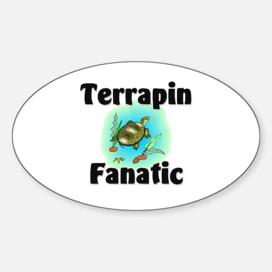 Terrapin Fanatic Oval Decal