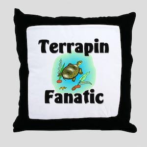 Terrapin Fanatic Throw Pillow