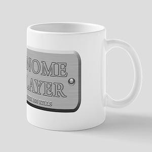 Brushed Steel - Gnome Slayer Mug