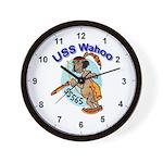 USS Wahoo Wall Clock