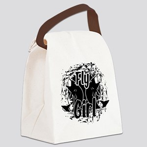 Fly Fishing Canvas Lunch Bag