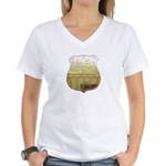 U. S. Male Inspector Women's V-Neck T-Shirt