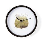 U. S. Male Inspector Wall Clock