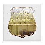 U. S. Male Inspector Tile Coaster