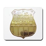 U. S. Male Inspector Mousepad