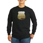 U. S. Male Inspector Long Sleeve Dark T-Shirt