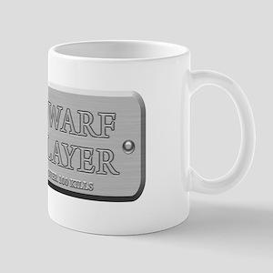Brushed Steel - Dwarf Slayer Mug