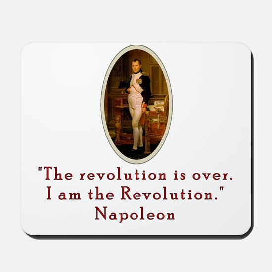 Napoleon Revolution Mousepad