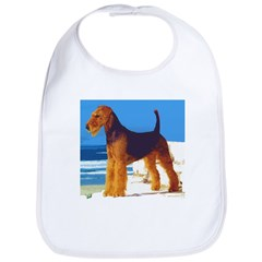 Airedale Terrier Bib