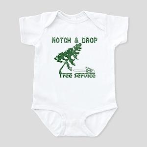 Notch & Drop Chainsaw Infant Bodysuit