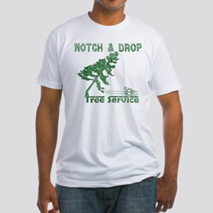 Notch & Drop Chainsaw Fitted T-Shirt