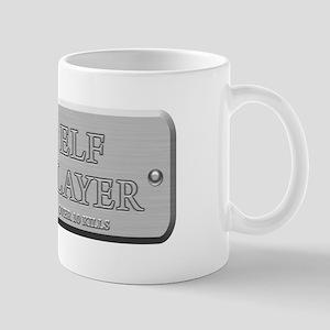 Brushed Steel - Elf Slayer Mug