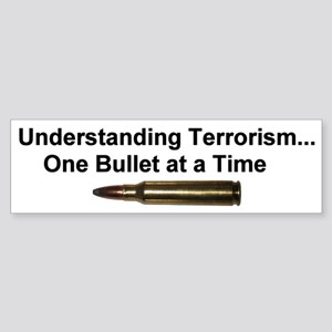 Understanding Terrorism Bumper Sticker