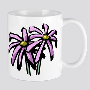 TWO PURPLE DAISIES Mug