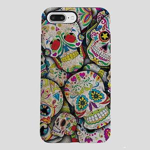 Sugar Skull Collage iPhone 8/7 Plus Tough Case