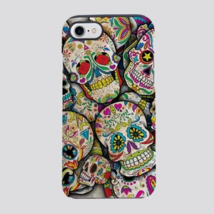 Sugar Skull Collage iPhone 8/7 Tough Case