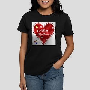 I Love My Seabee! Women's T-Shirt