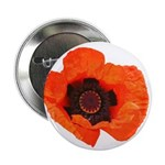 "Red Poppies 2.25"" Button (100 pack)"