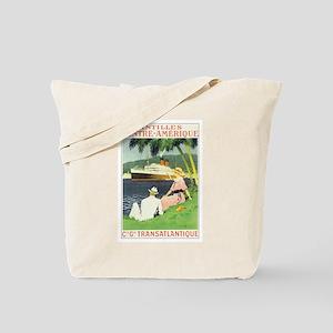 Antilles Caribbean Tote Bag