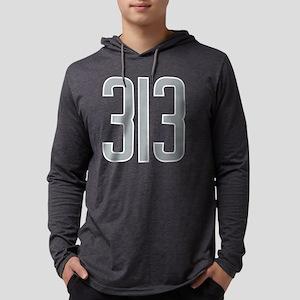 313 Area Code Gift for Detroit Long Sleeve T-Shirt